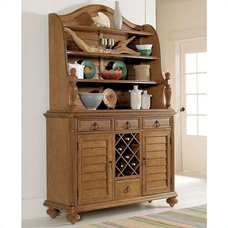 American Drew Grand Isle Buffet in Amber Finish - Buffet with Hutch at Sears.com