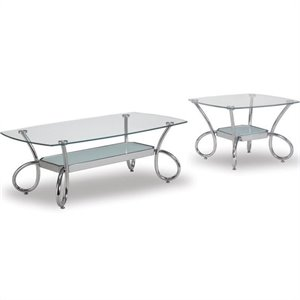 Metal Coffee Table Set
