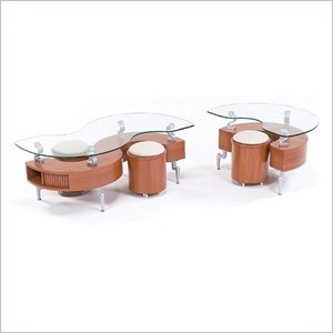 Natural Coffee Table Set