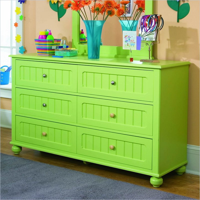 Lea My Style 6 Drawer Double Dresser