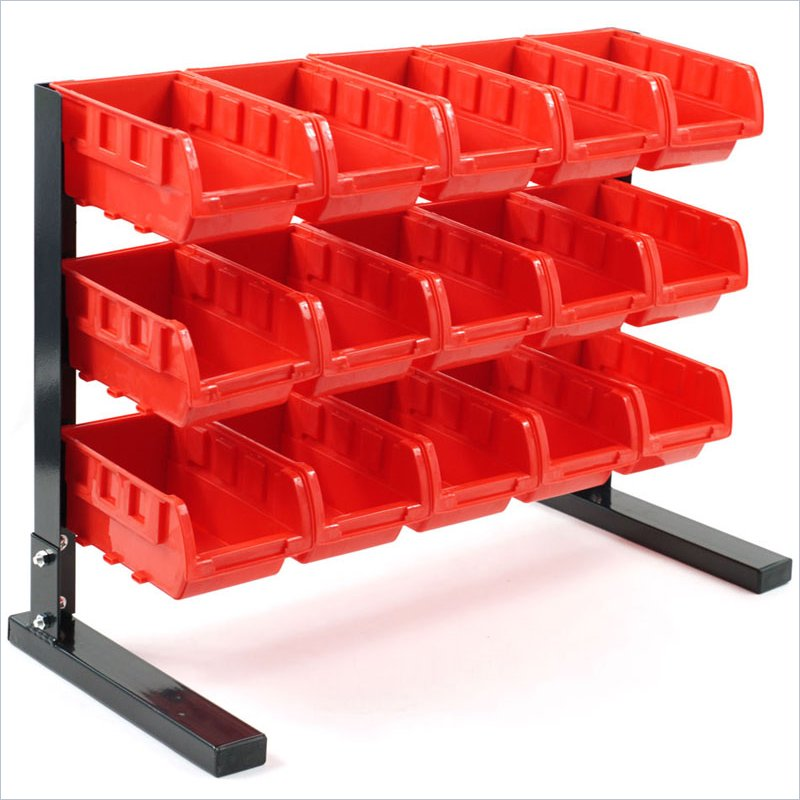 Trademark Global Trademark Tools Bench Top Parts Rack