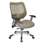 Office Star 86 REVV Series SpaceFlex Back and Chair in Latte