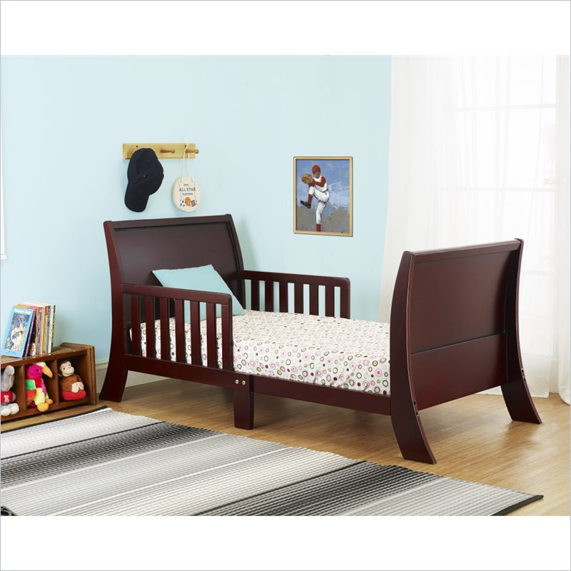 Orbelle Louis Philippe Toddler Bed in Cherry at Sears.com