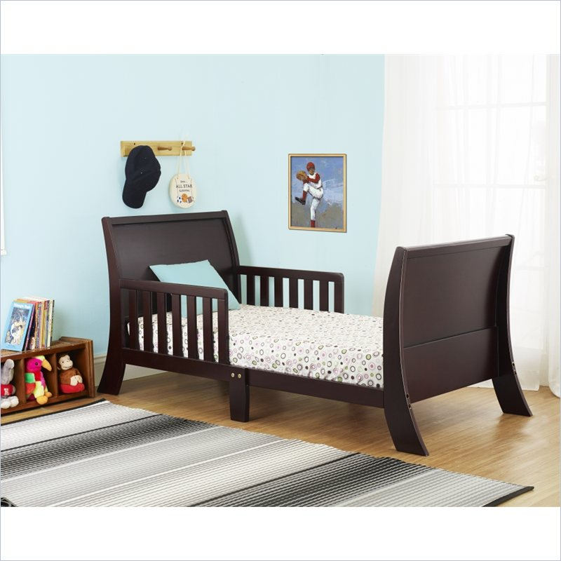 Orbelle Louis Philippe Toddler Bed in Espresso at Sears.com