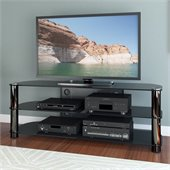 Sonax Metal and Glass TV Stand for up to 65