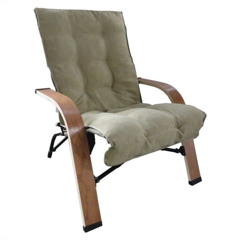 International Caravan Foldable Game Chair in Sage