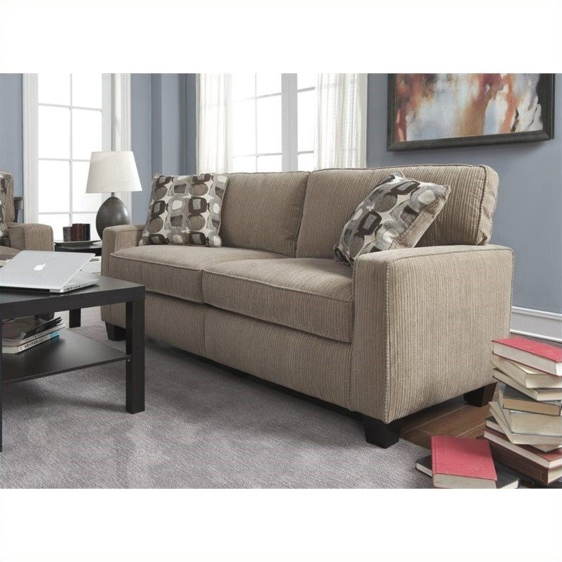Serta by True Innovations Serta Santa Cruz Sofa in Platinum Fabric at Sears.com