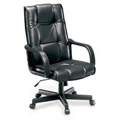 OFM Executive Leather Chair in Black