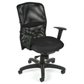 OFM Airflo Executive Chair in Black