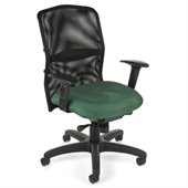 OFM Airflo Executive Chair in Green