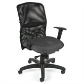 OFM Airflo Executive Chair in Gray