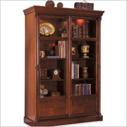 Kathy Ireland Office Sliding Glass Door Bookcase