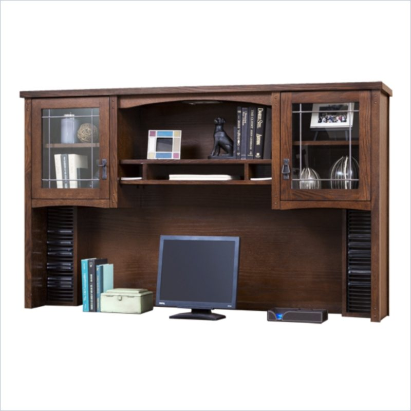 Martin Furniture Kathy Ireland Home by Martin California Bungalow Storage Hutch in Mission at Sears.com