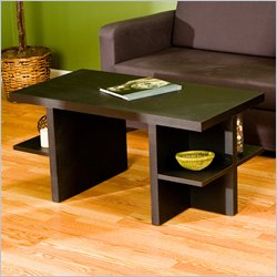 southern enterprises black coffee table