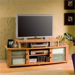 South Shore City Life Honeydew Plasma TV Stand