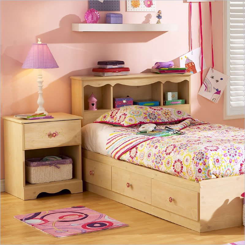 South Shore Furniture Lily Rose Kids Twin Bed Captain