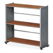 Mayline Eastwinds Three Shelf Bookcase in Medium Cherry