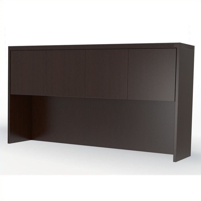 Mayline Aberdeen Hutch with Doors in Mocha - 60 Inches at Sears.com