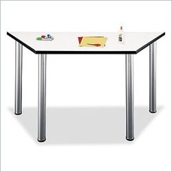 Bush Furniture - Aspen Gathering Tables- Trapezoid Table