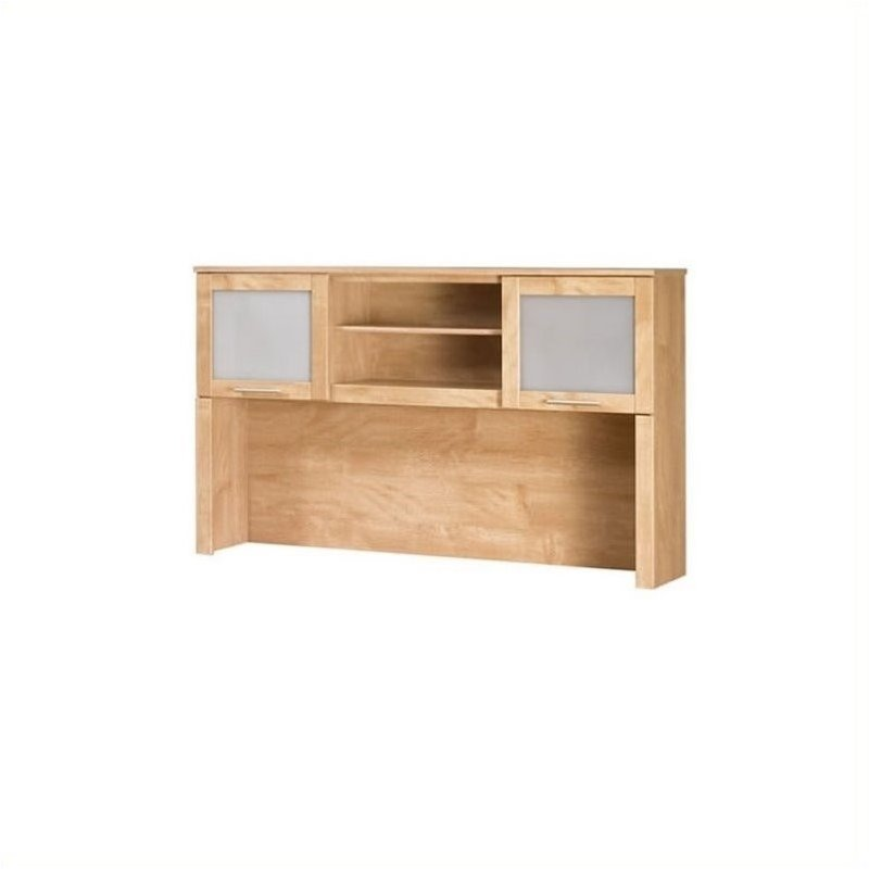 Bush Somerset Hutch for 60 inch L-Desk in Maple Cross at Sears.com