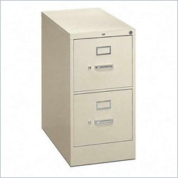 HON 210 Series 2 Drawer Vertical Metal Filing Cabinet
