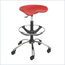 safco sit star red stool