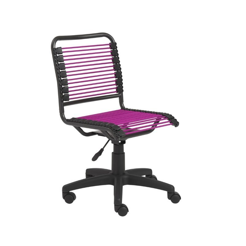 Eurostyle Beetle Low Back Pink Graphite Black Office Chair