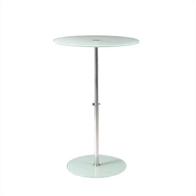 Eurostyle Raina Bistro Table in Frosted at Sears.com