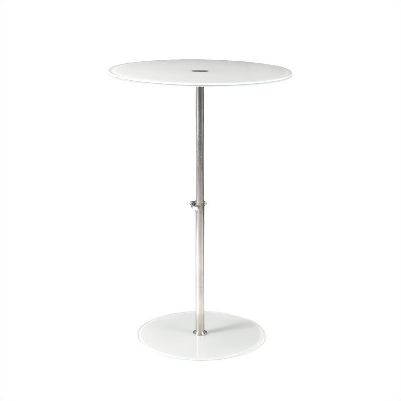 Eurostyle Raina Bistro Table in White at Sears.com