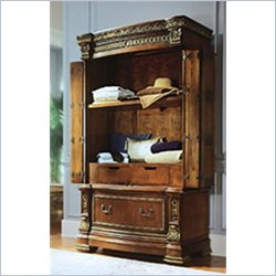 Pulaski Royale Antique Wood TV/Wardrobe Armoire