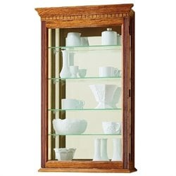 Howard Miller Montreal Wall Curio Cabinets