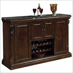 Howard Miller Niagara Wine and Spirits Console Home Bar in Rustic Cherry