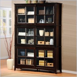 Homelegance 4 Piece Cherry Bookcase