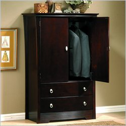 Homelegance Syracuse TV/Wardrobe Armoire in Merlot
