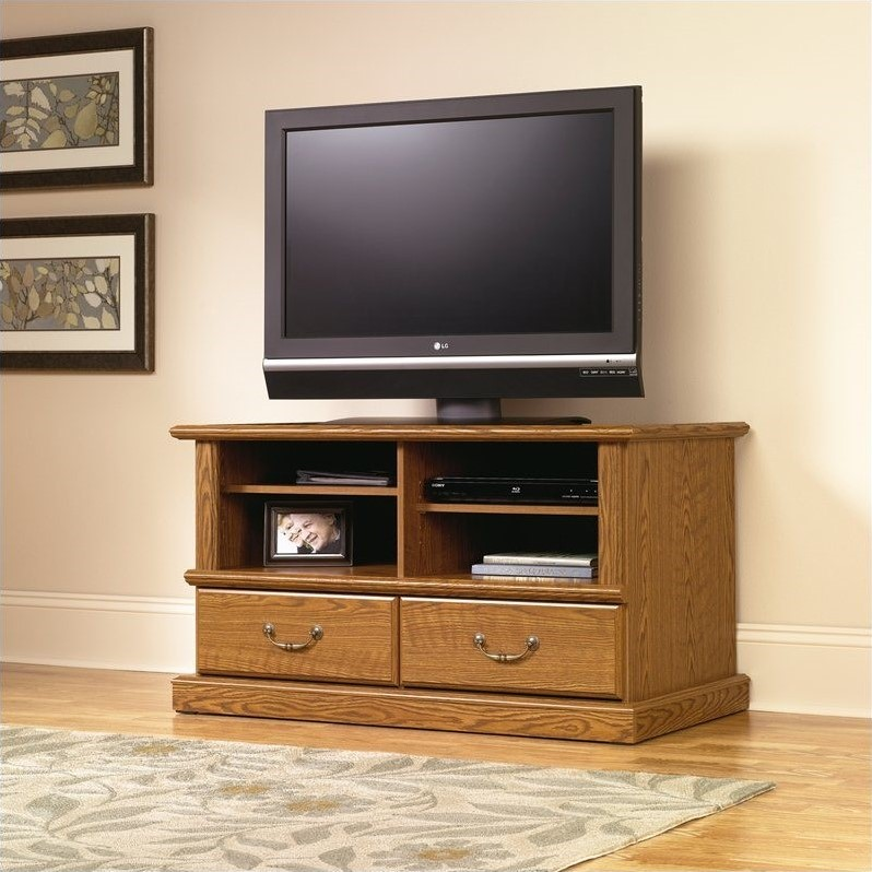 Sauder Orchard Hills Carolina Oak TV Stand at Sears.com