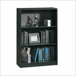 Sauder  3 shelf bookcase in black