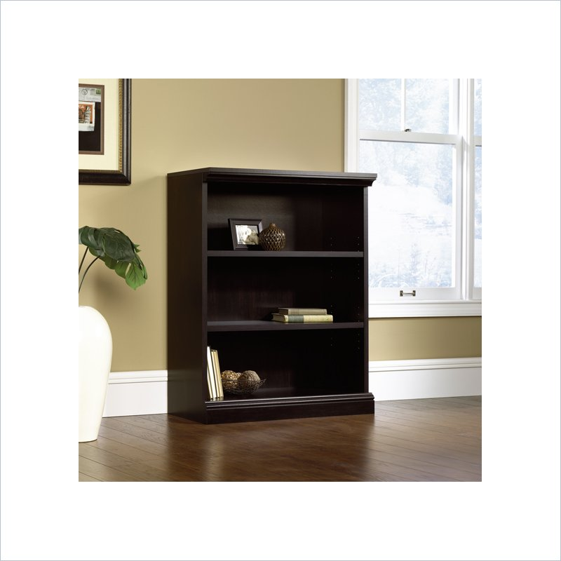Sauder 3 Shelf Bookcase in Estate Black at Sears.com