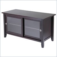 Winsome Solid Wood Media TV Stand in Espresso Finish at Sears.com