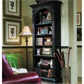 Hooker Furniture Seven Seas 5 Shelf Bookcase in Black Finish