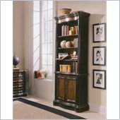 Hooker Furniture Preston Ridge Bookcase in Cherry/Mahogany Finish