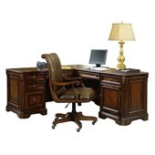 Hooker Furniture Brookhaven Executive L-Shaped Right Return