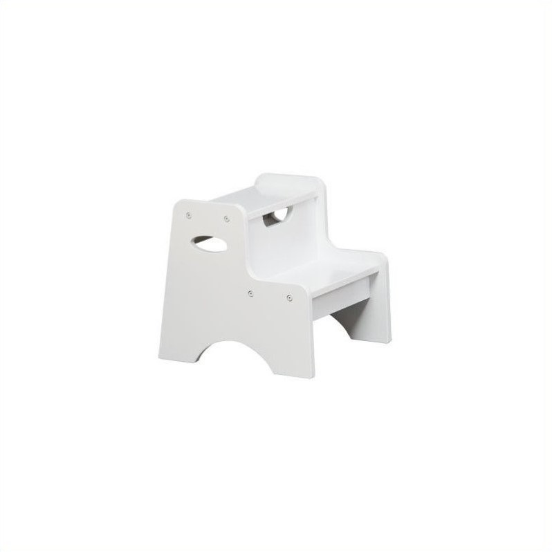 KidKraft Two Step Stool for Kids in White at Sears.com
