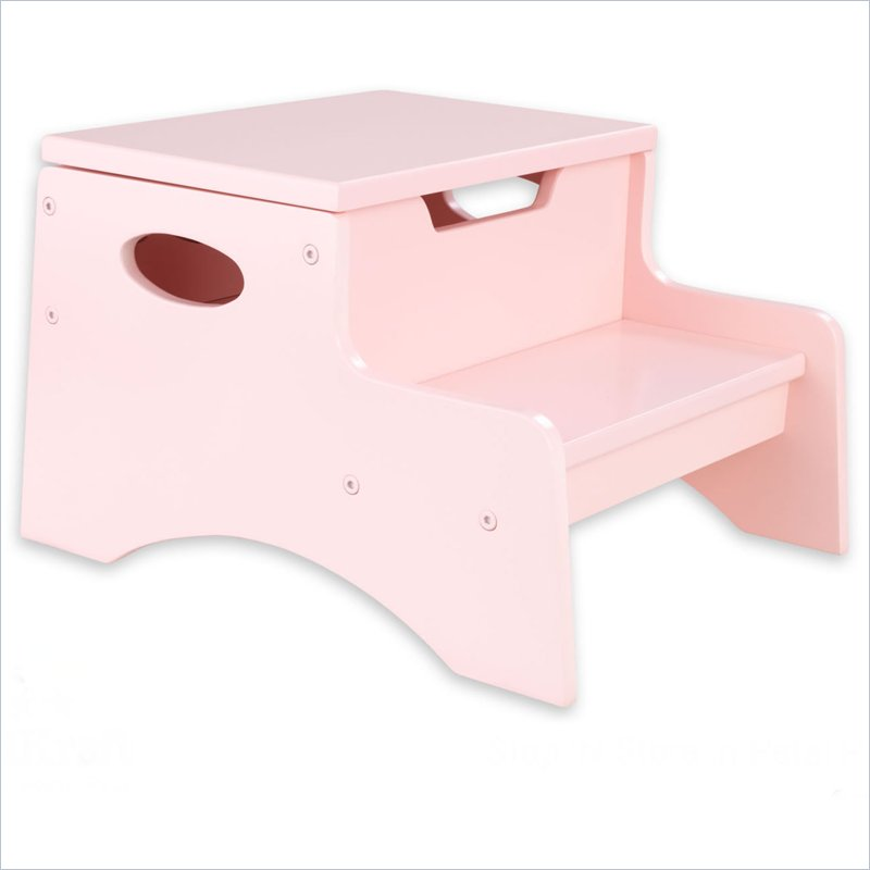 KidKraft Step 'n Store Kids Step Stool in Petal at Sears.com