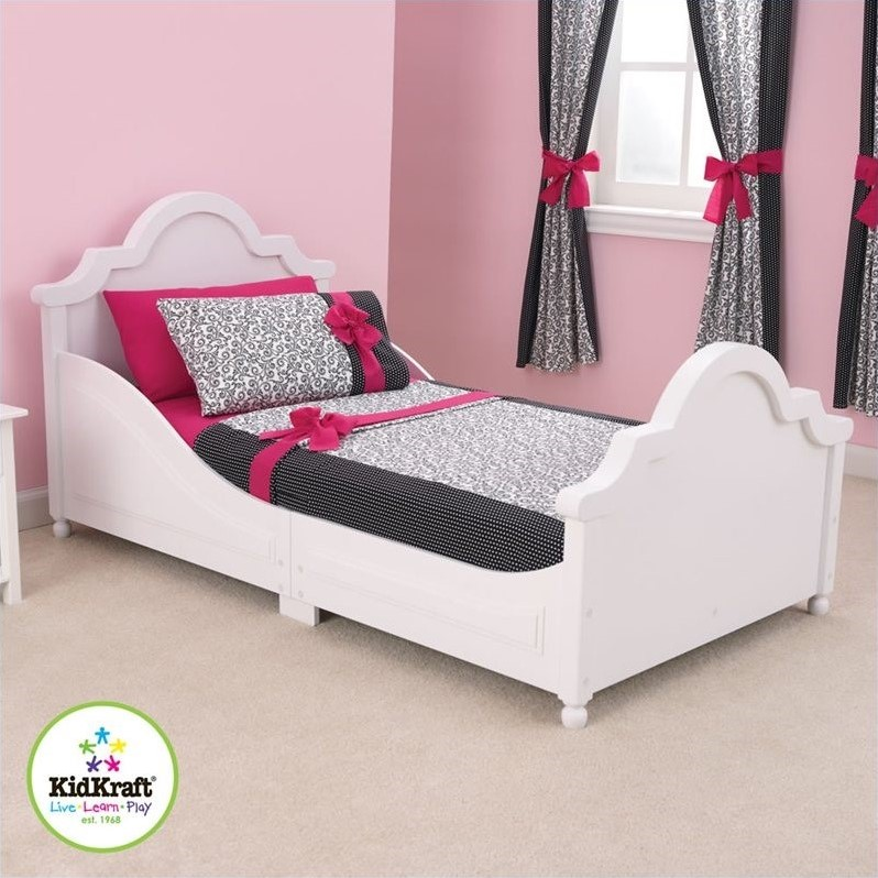 Kidkraft Raleigh White Toddler Bed