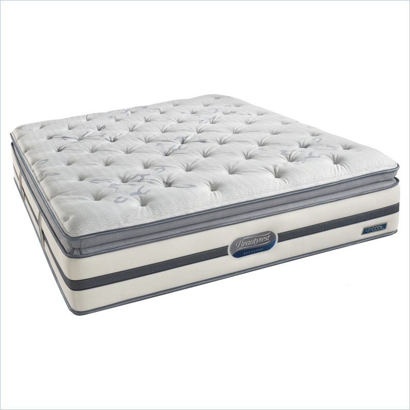 Simmons BeautyRest Recharge Songwood Luxury Firm Pillow Top Mattress - California King at Sears.com