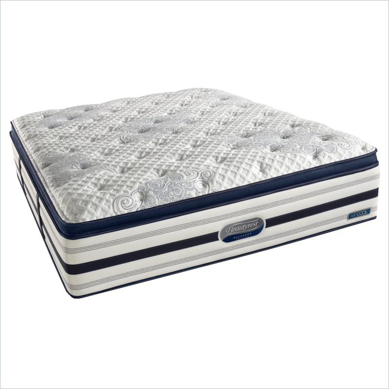 Simmons BeautyRest Recharge World Class River Lily Luxury Firm Super Pillow Top Mattress - King at Sears.com