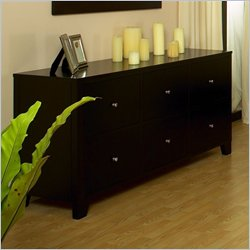 lifestyle solutions six drawer dresser