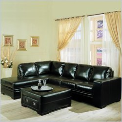 coaster furniture leather sectional sofa
