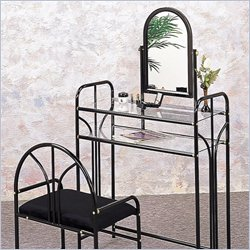 Coaster Metal Makeup Vanity