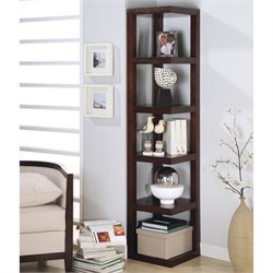 Coaster Corner Bookcase